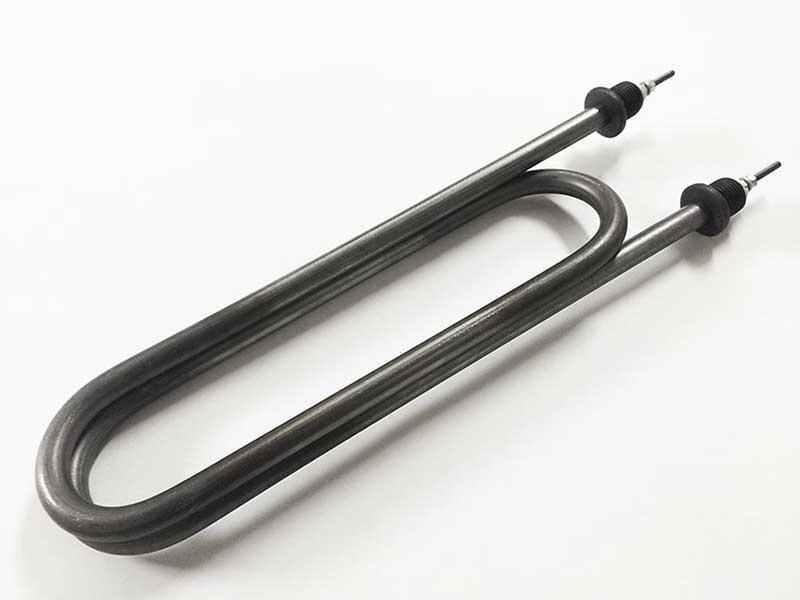 Нагревательный ТЭН 5,0 кВт из нержавеющей стали (140 В13/5,0 J 220 R30 Ф7 шт.G1/2
